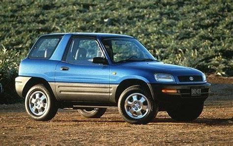 Toyota Rav4 2dr For Sale Maintenance Schedule For 1996 Toyota Rav4 Openbay