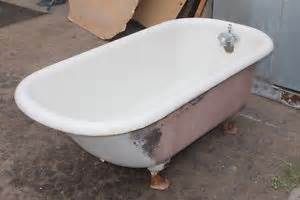 antique clawfoot bathtub 5ft bath tub claw foot cast iron