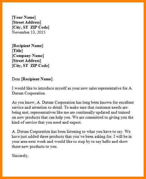 9  company introductions examples   Introduction Letter