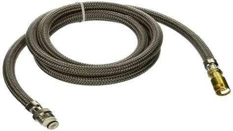 kitchen faucet hoses delta faucet rp44647 palo hose assembly for pull out faucets