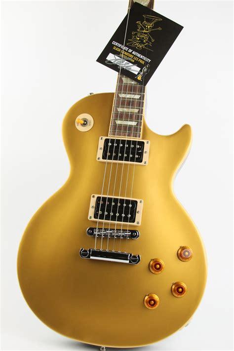 Miniatur Gitar Gibson Les Paul Gold Slash gibson slash les paul limited edition 2008 gold top guitar