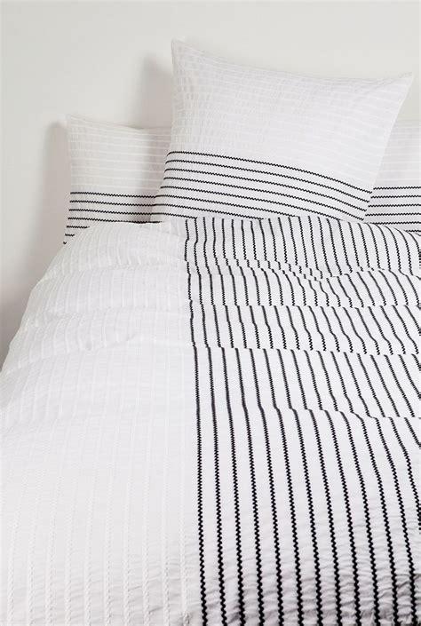 Striped Bed Sheets by Thin Stripe Bedding B E D L I N E N