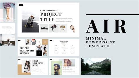 Air Free Powerpoint Template Powerpoint Templates Just Free Slides Powerpoint Template Design