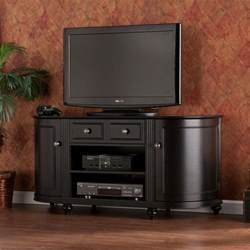 black tv stands sawyer black tv entertainment center media stand cabinet
