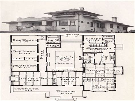 courtyard style house plans mission style house plans mission style house plans with