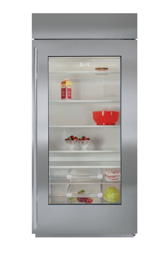 sub zero 36 quot built in all refrigerator furniture and