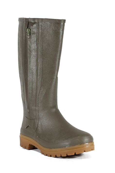 S Zipper Rubber Boots by Ducatex Rubber Boots With Zipper