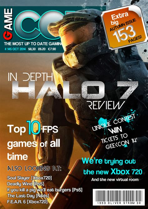 design video game cover game core magazine cover by oliver240693 on deviantart