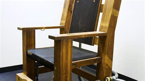 elektrischer stuhl elektrischer stuhl statt giftspritze news orf at