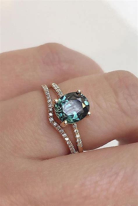Best 25  Unique wedding rings ideas on Pinterest   Wedding