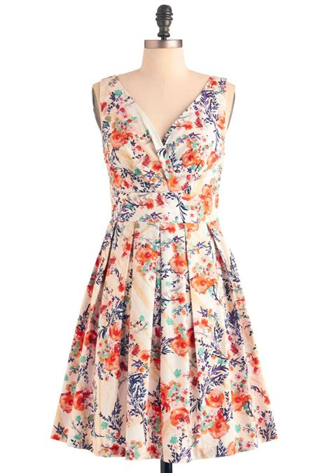 Flowers Dress floral palate dress in bouquet