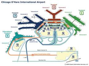 Chicago O Hare Airport Map by Outside The Fence Chicago O Hare Airport From