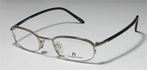 new rodenstock r4270 d silver gray two tone color eyeglass
