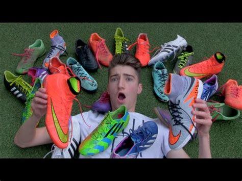 Football My my football boot collection footballskills98