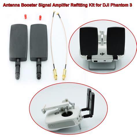 Antenna Fplr 24 Dji Phantom upgrade antenna booster signal lifer refit kit for dji phantom 3 transmitter ebay