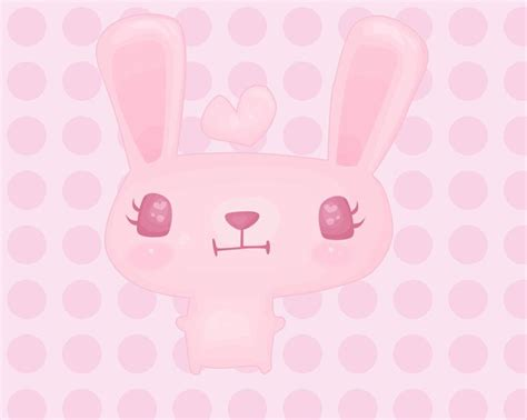 wallpaper pink rabbit pink rabbit desktop wallpapers pinterest