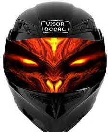 Sticker Decal Visor Helm 2 top 44 helmet visor decals