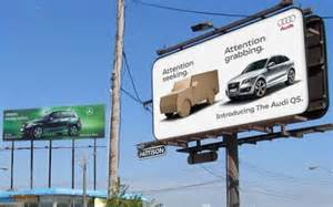 Bmw Audi Billboard Billboards Audi Vs Bmw Ad Caign Imagine