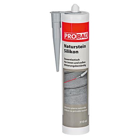 Acryl Silikon Aussenbereich probau naturstein silikon transparent 310 ml bauhaus