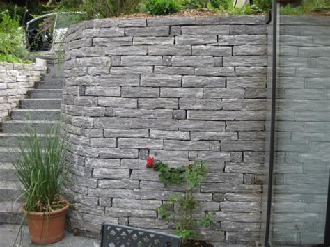 Betonsteine Mauer Preis by Gartenmauer Ersatz Schwellenmauern