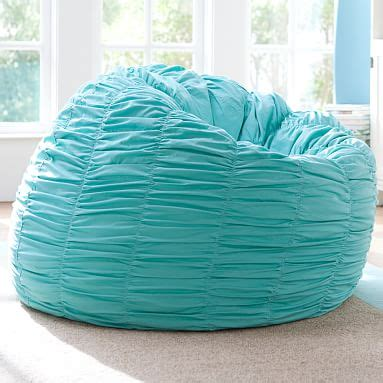 pool ruched beanbag pbteen