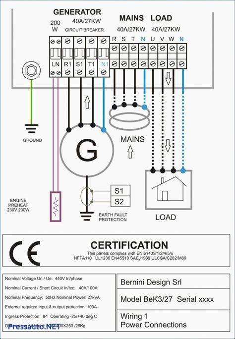 electrical wiring ats panel wiring diagram pdf 4 pole