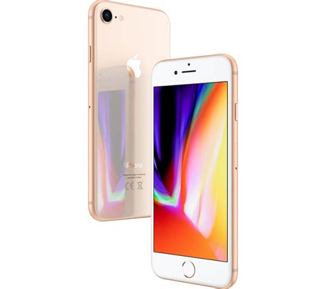 apple iphone 8 buy apple iphone 8 256 gb gold free delivery currys