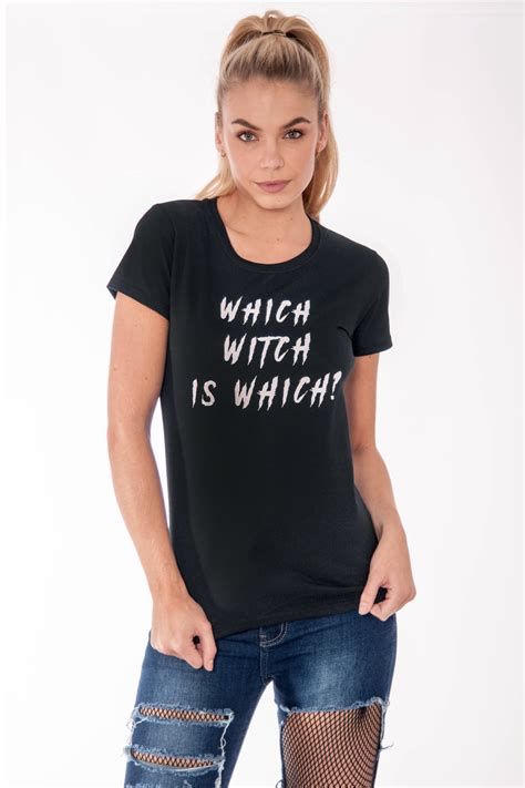 Promo Gs Sabrina Dress sabrina which witch is which t shirt clothing modamore
