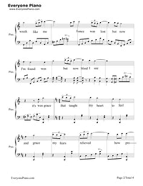 Amazing Grace-John Newton Free Piano Sheet Music & Piano