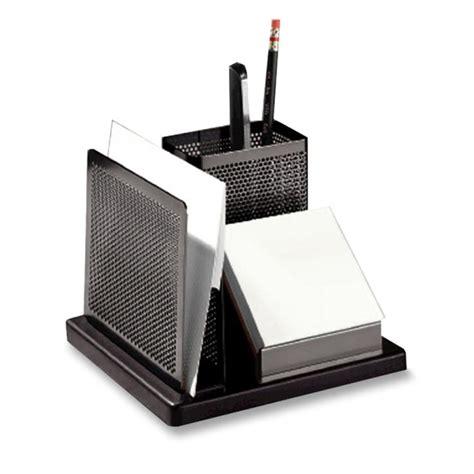 Rolodex Desk Organizer Rolodex Distinctions Wood Base Desk Organizer 1 Each Black Quickship