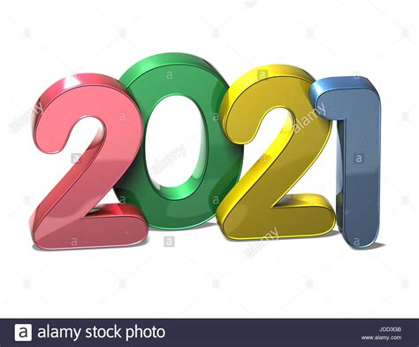 year   white background stock photo