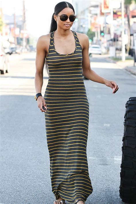 Ciara Maxi Dress c 243 mo vestir si eres alta los mejores trucos