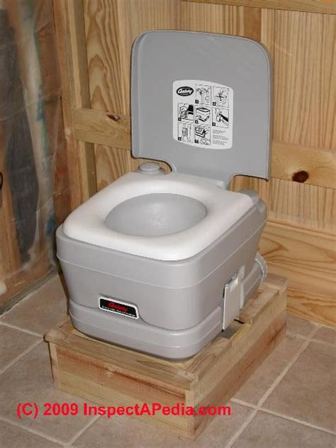 porta potty with guide to portable chemical toilets how to use clean