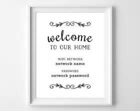7 Best Printable Home Decor Signs Images On Pinterest Wifi Password Printable Chalkboards And Wifi Sign Template