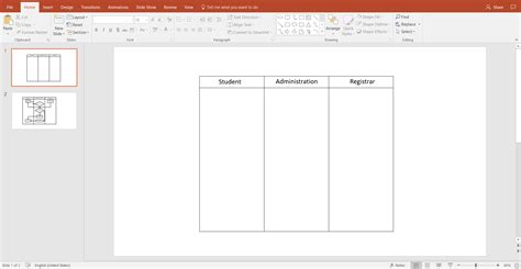 How To Create A Swimlane Diagram In Powerpoint Lucidchart How To Create Swimlanes In Powerpoint