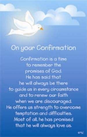 Confirmation Letter Methodist Confirmation Blessings Confirmation Prayer Religious Elizabeth Seton The