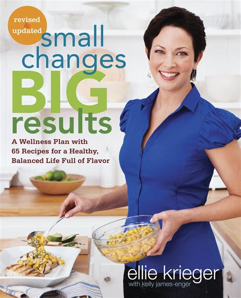 cooking with chagne book giveaway ellie krieger s small changes big results