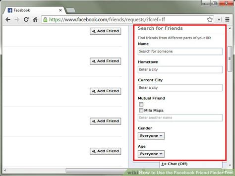 facebook friend finder how to use the facebook friend finder tool 7 steps