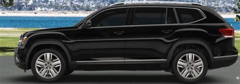 black volkswagen atlas 2018 volkswagen atlas available color options