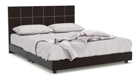 leather bed frame queen quadeco faux leather bed frame queen faux leather beds