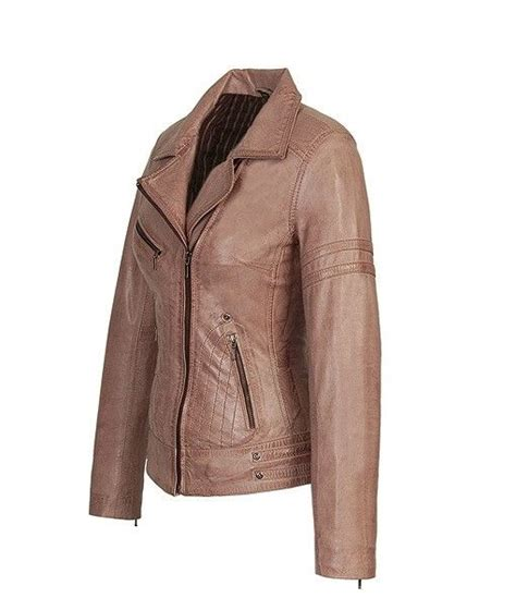 porsche design leren jas dames leren jas jane 5 taup leather city online