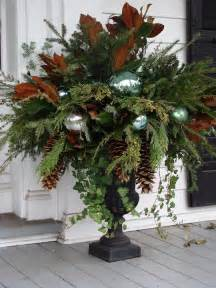 Blue Vase Fillers Gorgeous Christmas Urns Omg Lifestyle Blog