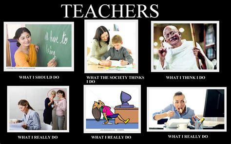 what people think a teachers summer is like vs what its image 256473 what people think i do what i really