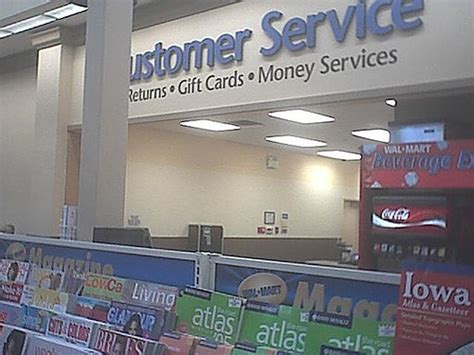 atlantic iowa wal mart customer service desk a photo on