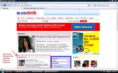 detiksport tik blog siswa sman 1 pare jadi blog pilihan blogdetik