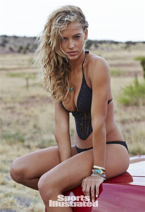 models for garnierfor2015 route 66 hannah ferguson for sports illustrated swimsuit 2015
