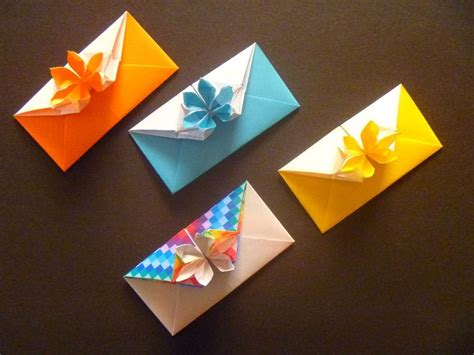 Origami Letter Envelope - 1000 images about origami envelopes letter folding on