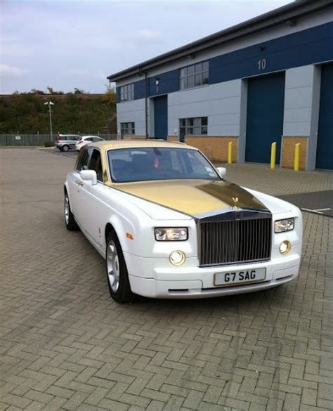 rolls royce phantom gold rolls royce phantom solid gold quot i wanna be a millionaire