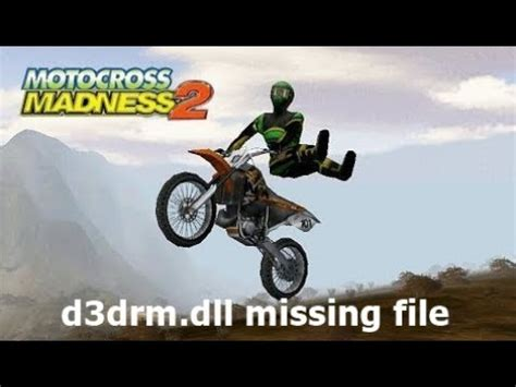 d3drm dll motocross madness 2 how to make motocross madness 2 work on windows 7