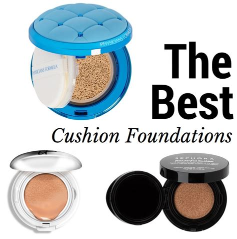 Cushion Foundation the best cushion foundations for sheer lightweight